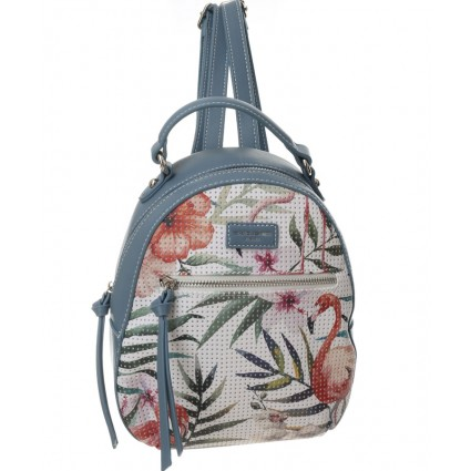 David Jones Tropical Backpack Blue