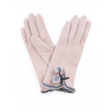 Powder Betty Wool Gloves Camel