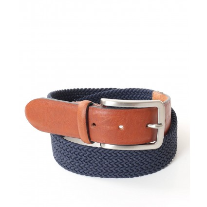 Charles Smith Webbed Belt Navy