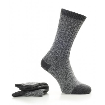 Alpaca Walking Socks Grey
