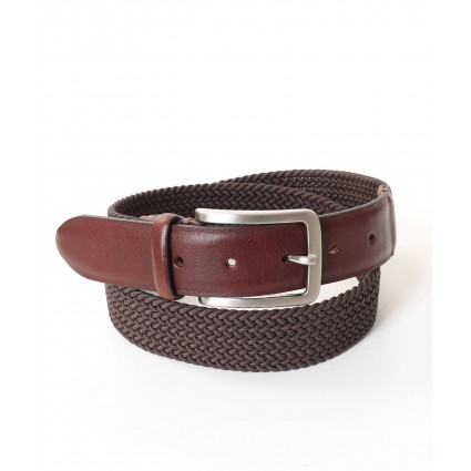 Charles Smith Webbed Belt Brown