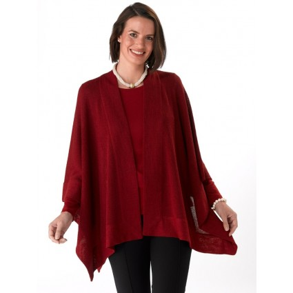 Artisan Route Camilla Cape Carmin Red