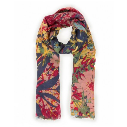 Powder Cottage Garden Print Scarf
