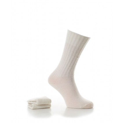 Alpaca Casual Socks Natural Cream