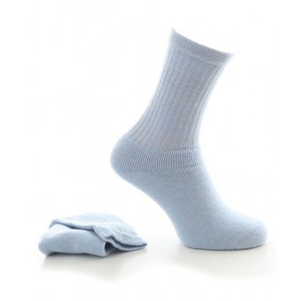 Alpaca Socks With Cushioned Sole Blue