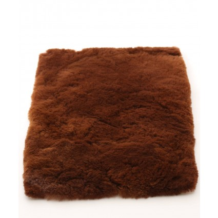 Alpaca Fur Rug Brown