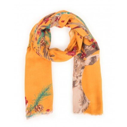 Powder Enchanted Stag Scarf