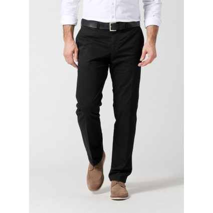 Brax Evans Regular Fit Chinos Perma Black
