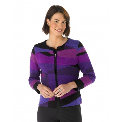 Millma By Artisan Route Intermezzo Cardigan Purple