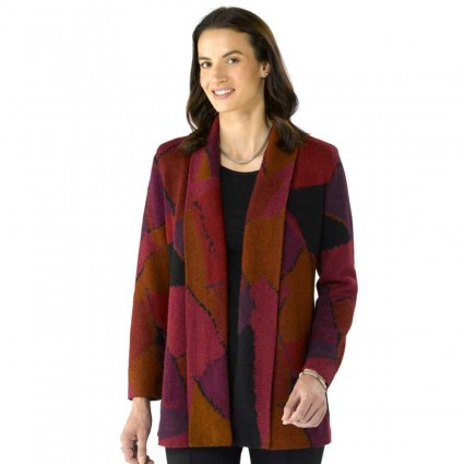 Millma by Artisan Route Jazz Alpaca Jacket Red Rock