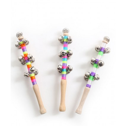 Wooden Jingle Bell Stick