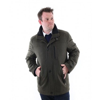 Jupiter Waterproof Wool Jacket Green