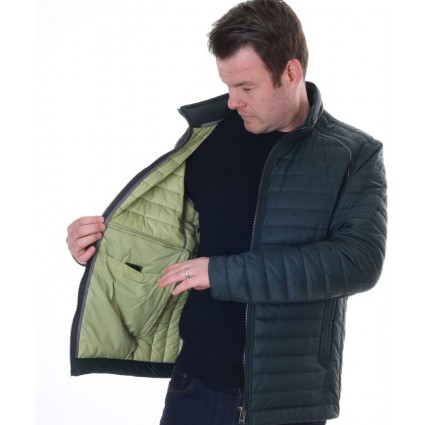 Jupiter Quilted Sports Jacket Green