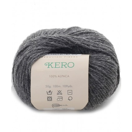 Alpaca Double Knit Yarn Grey