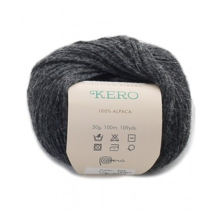 Alpaca Double Knit Yarn Charcoal