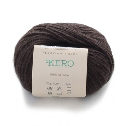 Alpaca Double Knit Yarn Brown