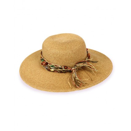 Powder Luna Beaded Sun Hat