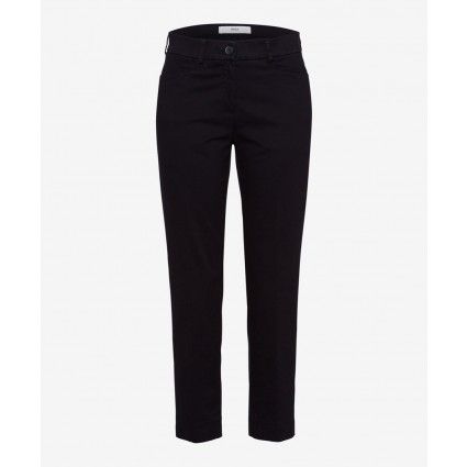Brax Mara Cropped Summer Trousers Black
