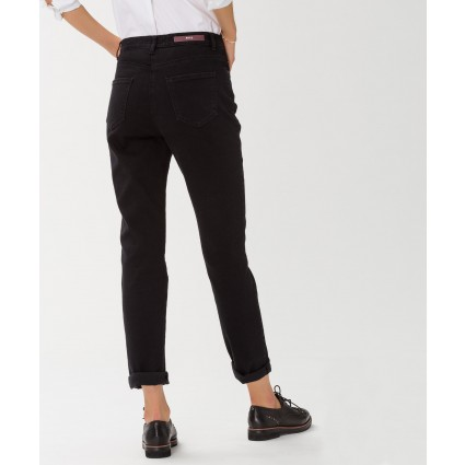Brax Mary Crystal Romance Slim Straight Leg Jeans Black