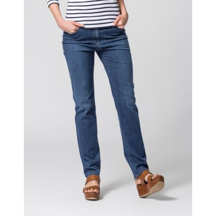 Brax Mary Trend Slim Leg Summer Jeans Regular Blue