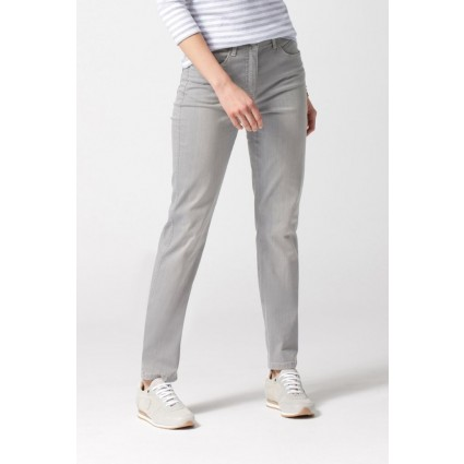 Brax Mary Trend Slim Leg Summer Jeans Grey