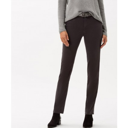 Brax Mary Winter Dream Slim Leg Trousers Grey