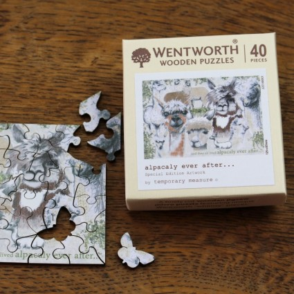 Wentworth Adult Alpaca Micro 40pc Jigsaw