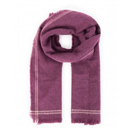 Powder Molly Scarf Damson