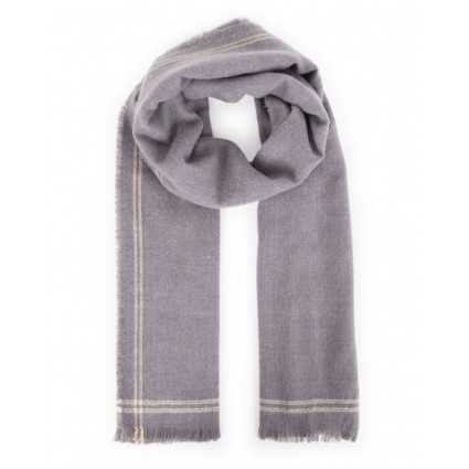 Powder Molly Scarf Slate Grey