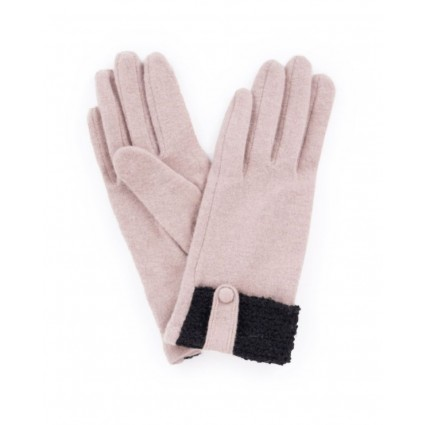 Powder Monica Wool Gloves Camel