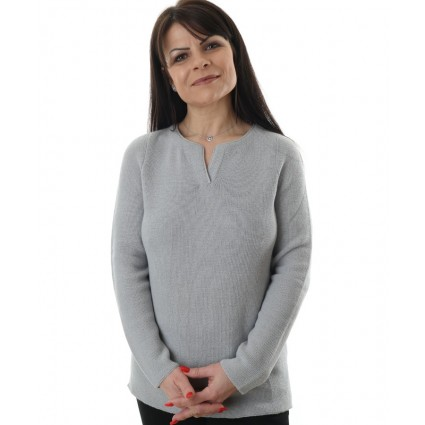 Artisan Route Nadia Jumper French Grey