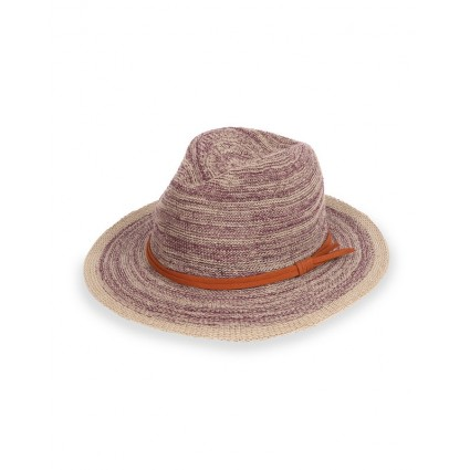 Powder Natalie Cotton Sun Hat Damson