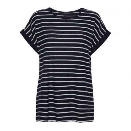 Godske Striped T-Shirt Navy & White