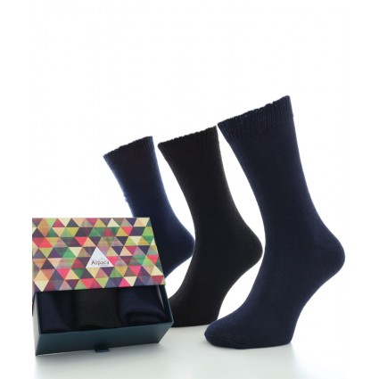 Alpaca Sock Box Everyday Black/Navy