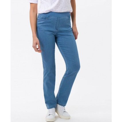 Brax Pamina Pull On Jeans Lightwash