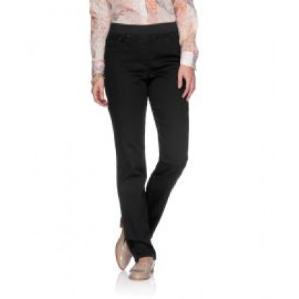 Brax Pamina Jeans Pull On Slim Leg Black