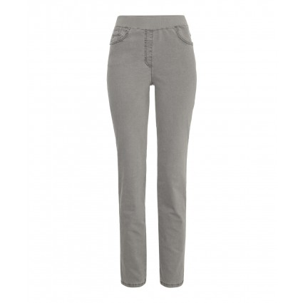 Raphaela By Brax Pamina Slim Leg Pull On Jeans Pamina Grey
