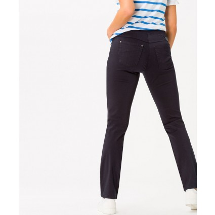 Brax Pamina Pull On Slim Jeans Dark Blue