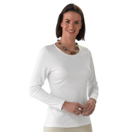 Artisan Route Patricia Pima Cotton Top White