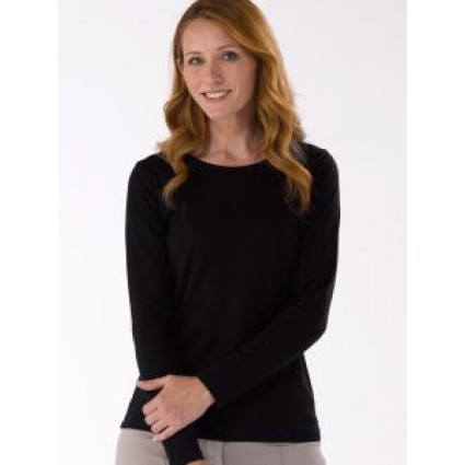 Artisan Route Patricia Pima Cotton Top Black