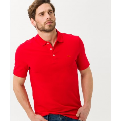 Brax Patrick Polo Shirt Chili Red