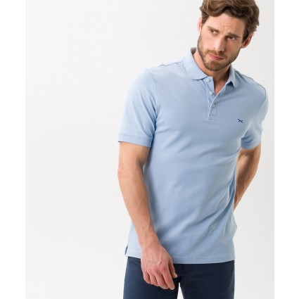 Brax Patrick Polo Shirt Blue