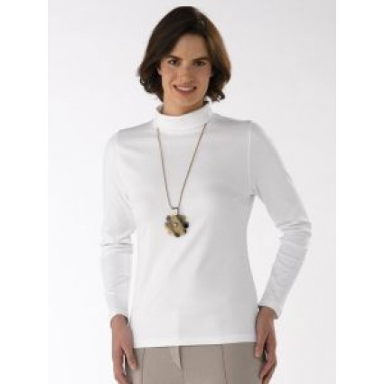 Artisan Route Paula Pima Cotton Top White