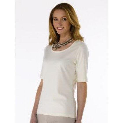 Artisan Route Pima Pilar Cotton T-Shirt Natural