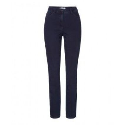 Brax Rosa Jeans Stretch Slim Leg Dark Blue