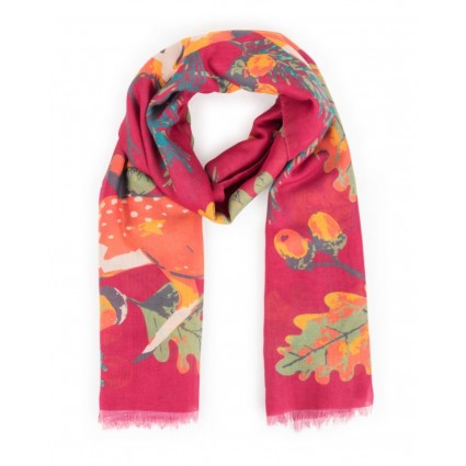 Powder Scandi Deer Scarf