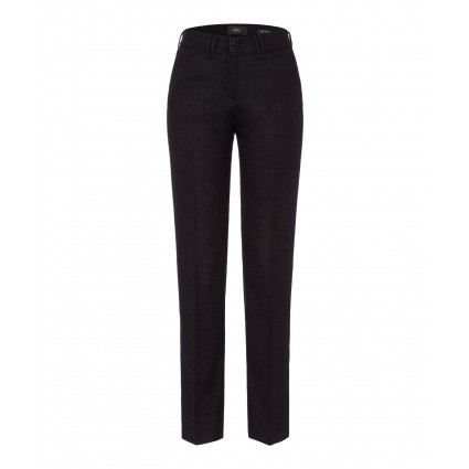 Brax Sofie Wool Trousers Anthracite