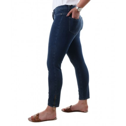 Brax Spice Skinny Push Up Jeans Mid Blue