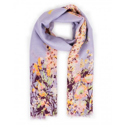 Powder Spring Hare Print Scarf