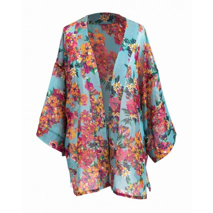 Powder Floral Summer Jacket